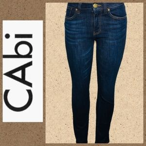 Cabi blue jeans size 2 high streight